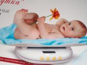 электронные детские весы для новорожденных. Весы для новорожденных