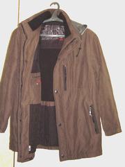 Куртка-штормовка тёплая демисезон Пьер Карден
