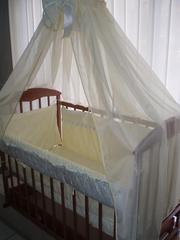 Постельный комплект в кроватку Луганск.