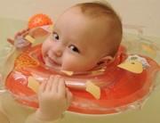 Круги для новороженных BabySwimmer для купания 0-24 мес. со склада