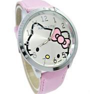 Часы Hello Kitty для маленьких принцесс! кварцевые с инкрустацией