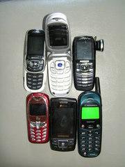 Мобильные телефоны Б/У