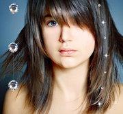 Лески для волос c камнями SWAROVSKI Сваровски