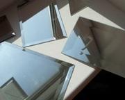 Зеркало,  порезанное в размер