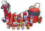Работы противопожарного назначения,  перезарядка огнетушителей.