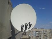 Спутниковое телевидение в Алчевске,  Перевальске.