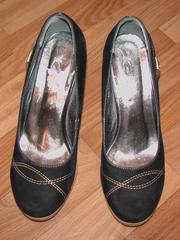 Продам туфли женские из нубука