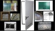 Двери металлические входные, решетки на окна, металлоконструкции и т.д.