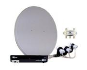 Установка спутникового телевидения,  прошивка ресиверов.