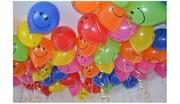 Оформление воздушными шарами на свадьбы.