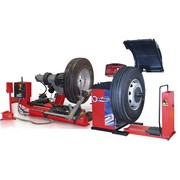 Комплект шиномонтажного оборудования для грузовых автомобилей