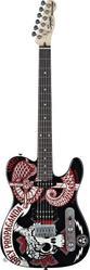[+]  продаю гитару ЭЛЕКТРОГИТАРА FENDER SQUIER OBEY GRAPHIC TELECASTE